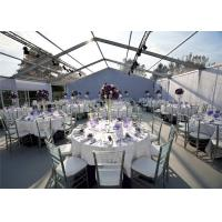 Wholesale Luxury Transparent Tents Clear Roof Marquee Party Wedding Tent For 500 People from china suppliers