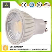 Buy cheap 5W GU10 LED  Dimmable  Bulbs 35W halogen Bulbs Equivalent 90 Beam Angle 350 lumens from wholesalers