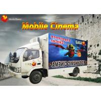 Wholesale Beautiful Mobile 7D Cinema 7D Interactive Theater With Motion Chair from china suppliers