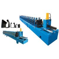 Wholesale Rubber U Channel Shutter Door Roll Forming Machine / Shutter Making Machine from china suppliers