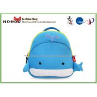 Wholesale Cute Cartoon Whale Children School Bags , Neoprene Hard Shell Suitcase from china suppliers