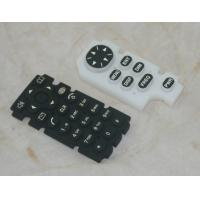 Wholesale Custom Remote Control Silicone Rubber Keypad OEM / ODM With Squre Shape Buttom from china suppliers