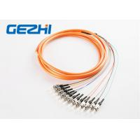 Wholesale Waterproof FC / PC Fiber Bundle Pigtail MM 50 / 125um Multimode OS1 SM MM OM1 from china suppliers