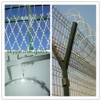 Wholesale Hot dipped straight line razor wire fencing from china suppliers