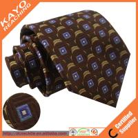 China Business typed 100% silk ties for men on sale