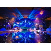 Wholesale Indoor Full Color Stage Background Led Display Screen SMD 3528 25600dots / m2 from china suppliers