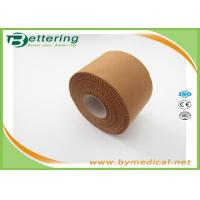 Wholesale 5cmx13.7m Latex free zinc oxide athletic rigid strapping tape viscose sport tape to limit joint movement from china suppliers