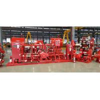 China High Efficency Diesel Engine Driven Fire Pump With Jockey Pump Set 750 GPM on sale