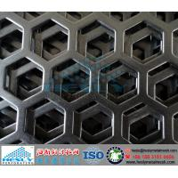Wholesale Hexagonal Perforated Metal Sheets, Hexagonal hole perforated metal from china suppliers