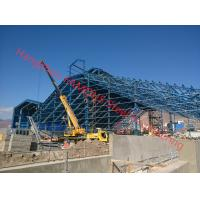 Buy cheap Prefabricated Galvanized Industrial, Commercial, Resdential Steel Building from wholesalers