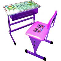 Quality New Style Adjustable Plastic Study Table and Chair for sale