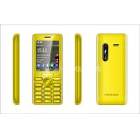 Wholesale Yellow USB Slim Mobile Phones , Plastic and  2.4 inch with Bluetooth  from china suppliers