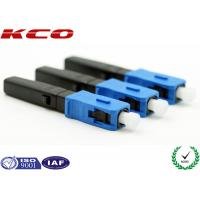 Wholesale CATV FTTH SC PC Fiber Optic Fast Connector , Quick Assembly Connector from china suppliers