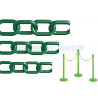 Wholesale Recyclable Colorful Plastic Link Chain / Green Plastic Chain For Garden from china suppliers