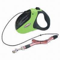 Wholesale Retractable dog leash, transparent window style from china suppliers
