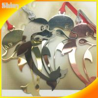 Wholesale Lovely Stainless Steel Metal Bookmark Clip , Metallic Bookmarks Animal Style from china suppliers