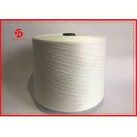 Wholesale Raw Pattern 100% Polyester Ring Spun Yarn Black White Plastic Cone High Tenacity from china suppliers