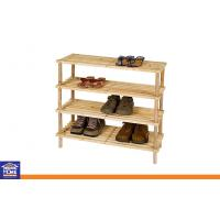 Wholesale Wooden Collapsible Over Door Shoe Storage Racks Space Saving and Portable from china suppliers