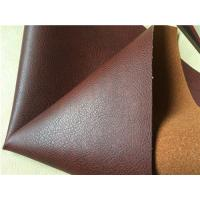 Wholesale Pu Coated Embossed Stretch Leather Fabric With 30% Leather Composition from china suppliers