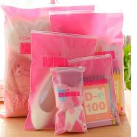 Wholesale Transparent PE Plastic Zipper Packaging Bags for Clothing from china suppliers