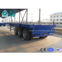 Wholesale 20FT / 40FT BPW Axle skeletal container semi trailer Heavy duty Chassis from china suppliers