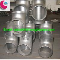 Wholesale 6'' seamless DIN butt weld tee from china suppliers