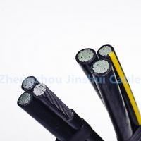 Wholesale 0.6 / 1kv Aerial Bundle Cable Crosslinked Polyethylene Insulated Aluminum Conductor from china suppliers