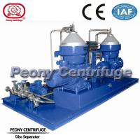 Wholesale Disc Fuel Oil Handling System for Liquid-liquid-solid Separation to Remove Solid and Water from Oil from china suppliers