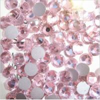 Wholesale SS6 lt rose flatback loose rhinestone glass crystal stone for crafts/nail art from china suppliers