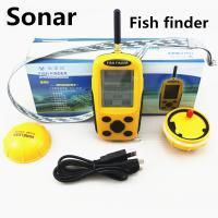 Wholesale EUROPE Lucky Wireless Fish Finder 70 - 100M Sonar Sensor Dot Matrix Bottom from china suppliers