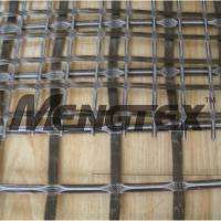 Wholesale Good Thermal Stability Basalt Reinforcing Mesh Geogrid Asphalt Coated from china suppliers