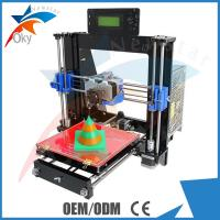 Wholesale Laser Cut Acrylic Frame 3d Printer Kits Dual Extruder I3 Pro C Multicolor from china suppliers