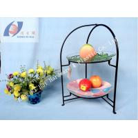 Quality Popular 2- tier dessert holder/ dish holder/ plate holder for sale