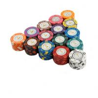 Wholesale 20PCS / Lot Poker Chips 14g Clay Coin Baccarat Texas Hold'em Poker Set from china suppliers
