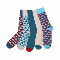Wholesale Ladies fashionable dotted socks, available in various colors, materials and sizes, Azo-free from china suppliers