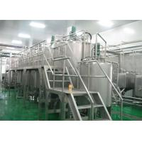 Wholesale Complete Fully Automatic Bottled Fruit Juice Processing Line For 2T / D - 500 T / D from china suppliers