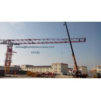Wholesale Topless Flat Tower Crane 20t PT8030 80M Large Working Jib 5m Mast from china suppliers