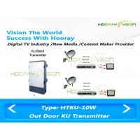 Wholesale Irony Material Digital Tv Transmitter Terrestrial 10700-12000 MHz Operation frequency from china suppliers