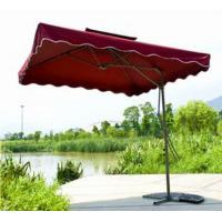 Wholesale decorative Double Roof modern Outdoor Patio Umbrellas / RED Garden Parasol from china suppliers