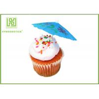 Wholesale 100% Birch Wood Wedding Cupcake Toppers Cupcake Toothpicks With Flag from china suppliers