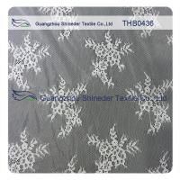Wholesale Eco - Friendly White Bridal Nylon Lace Trim 150 * 300CM Decorative Lace Trim from china suppliers