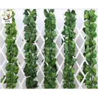 Wholesale UVG decorating ideas hanging plastic ivy leaves artificial vines for wedding themes use DHP01 from china suppliers