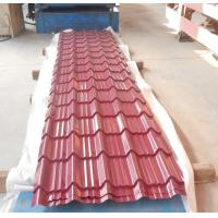 Wholesale Durable Colorful corrugated metal roof sheet  or zincalume sheet for villa roofs from china suppliers