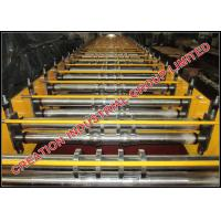 Wholesale Galvanised / Chromadek Wide Span Roof Panel Roll Forming Machine from china suppliers