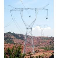 power transmission line steel tower