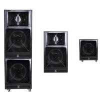 Dual 18 four way speaker system long throw sound speaker