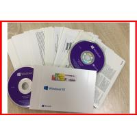 Wholesale Multi Linguage Windows 10 Pro Retail Box OEM Key With 64bit DVD 100% Online Activation from china suppliers