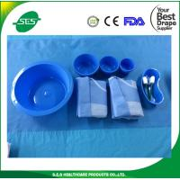 Wholesale Nonwoven Disposable Sterile Surgical Angiography Drape Kits, Angio Kits from china suppliers