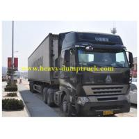 Wholesale Howo 8x4 Refrigerated Box Truck with closed Container , Cargo Van Truck from china suppliers