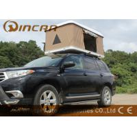 Wholesale Hard Shell Fiberglass Car Roof Top Tent / Jeep Roof Rack Tent With Fiber Glass Shell from china suppliers